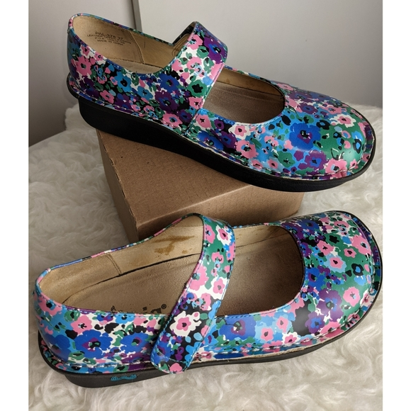 Alegria By PG Lite  | Mary Jane Clog Shoes Size 37